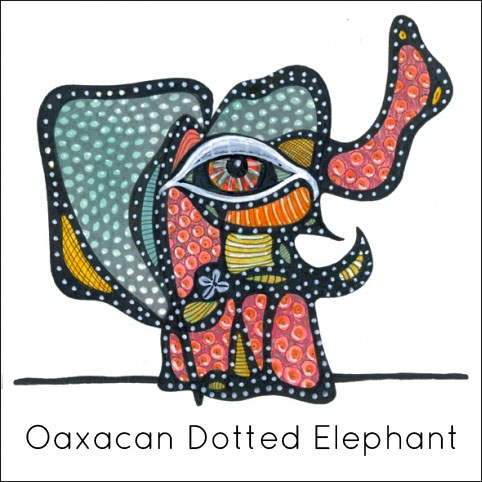 Oaxacan Dotted Elephant