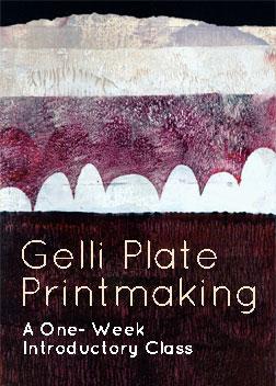 """Gelli Plate Printmaking"" with Carla Sonheim"