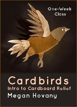 """Cardbirds: Intro to Cardboard Relief"""