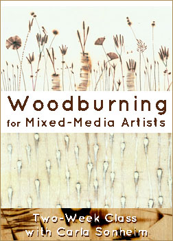 Woodburning for Mixed-Media Artists