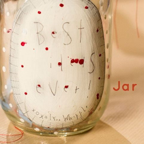 Best Ideas Ever Jar