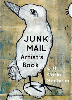 Junk Mail Artist's Book