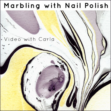 Marbling with Nail Polish – Tutorial