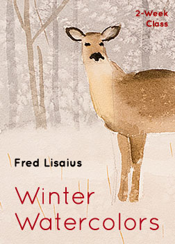 Winter Watercolors with Fred Lisaius