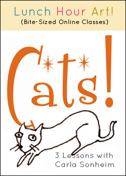 Cats! Online Class with Carla Sonheim