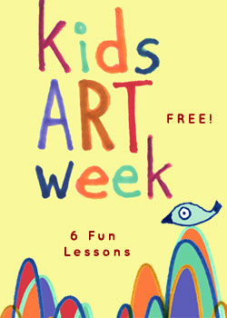 FREE! Kids Online Art Class – 6 Lessons