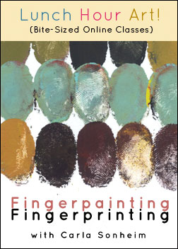 Fingerpainting : Fingerprinting