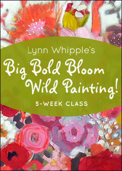 Big Bold Bloom Wild Painting!