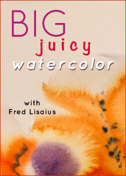 Big Juicy Watercolor