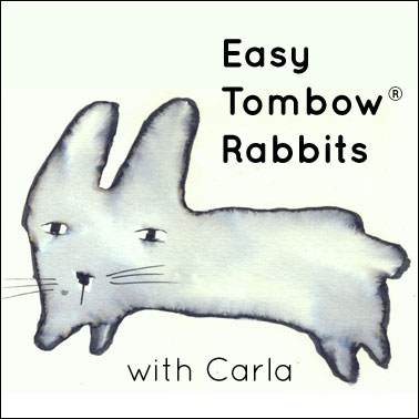 Easy Tombow® Rabbits