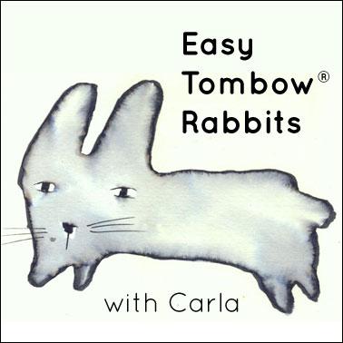 Easy Tombow® Rabbits