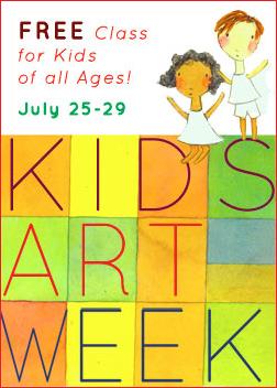 Kids Art Week – Free!