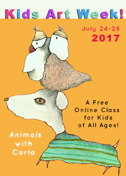 2017 Kids Art Week – FREE!