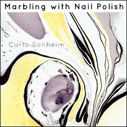 headshot of Marbling with Nail Polish