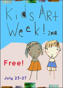 Kids Art Week 2018!