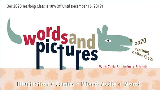 https://www.carlasonheim.com/online-classes/2020-words-pictures/